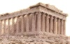The Parthenon on the Acropolis of Athens.